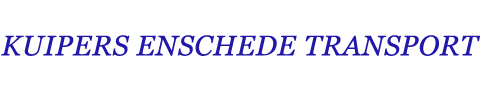 Logo Kuipers Enschede Transport