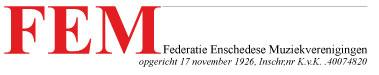 Logo Federatie Enschedese Muziekverenigingen