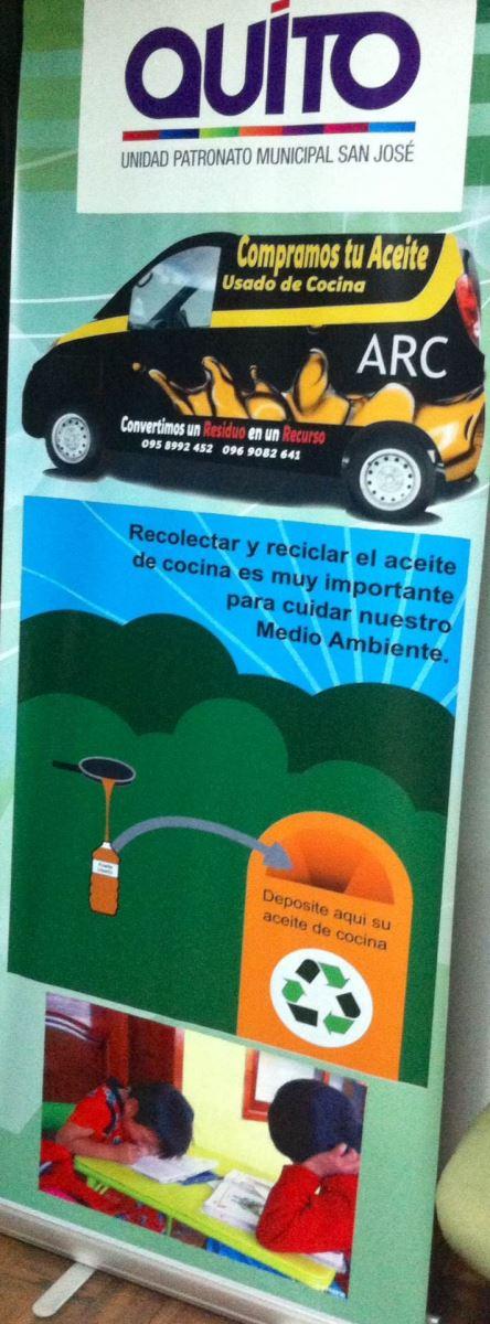 La unidad patronato municipal san jos arc aceite - Aceite usado de cocina ...
