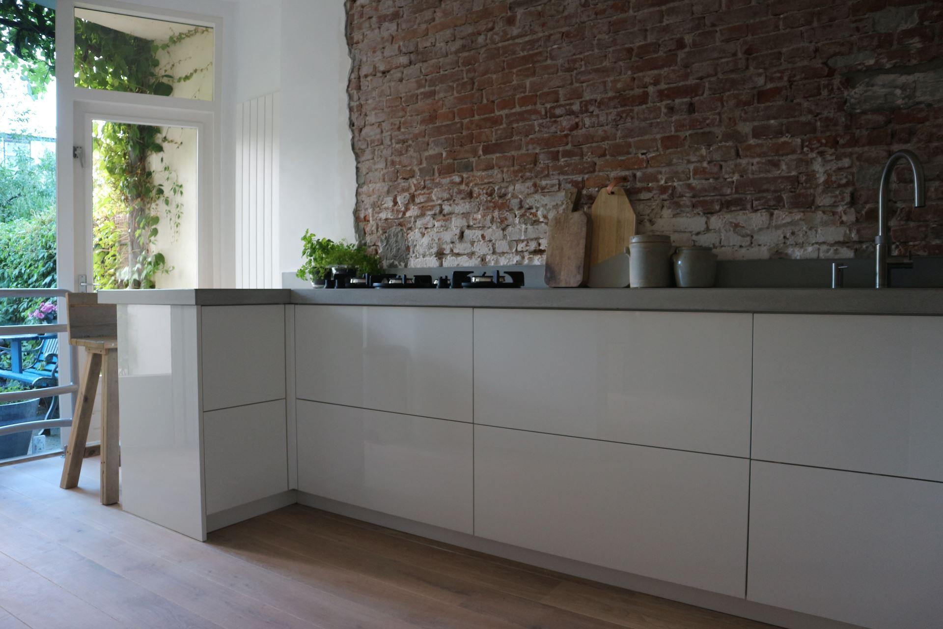Hoogglans Witte Keuken : Moderne keukens das keukens