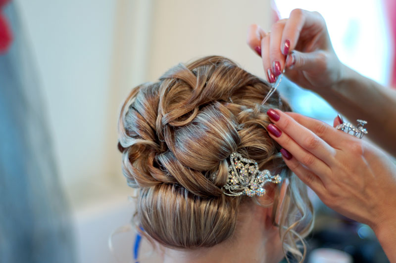 hair bride hairdresser