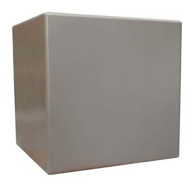 Polyester bloembak 40x40x40cm mat