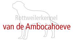 Logo Rottweilerkennel van de Ambocahoeve