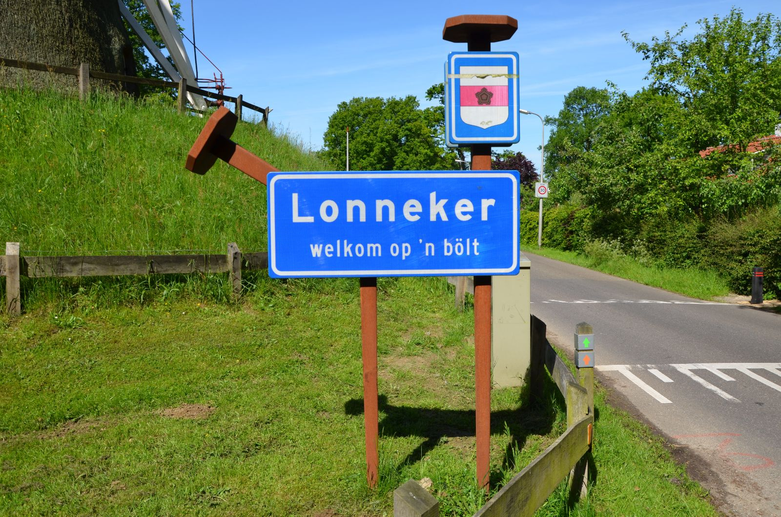 Website van Lonneker