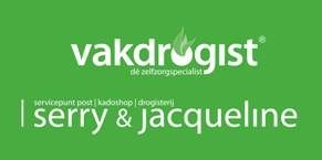 Vakdrogist, Servicepunt Post | Kadoshop | Drogisterij Serry & Jacqueline