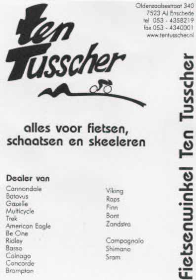 Ten Tusscher Fietsenwinkel