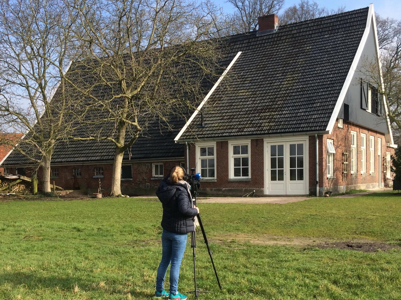 MooiOverijssel maakt opnames van Erve Demmer   foto TE 2015