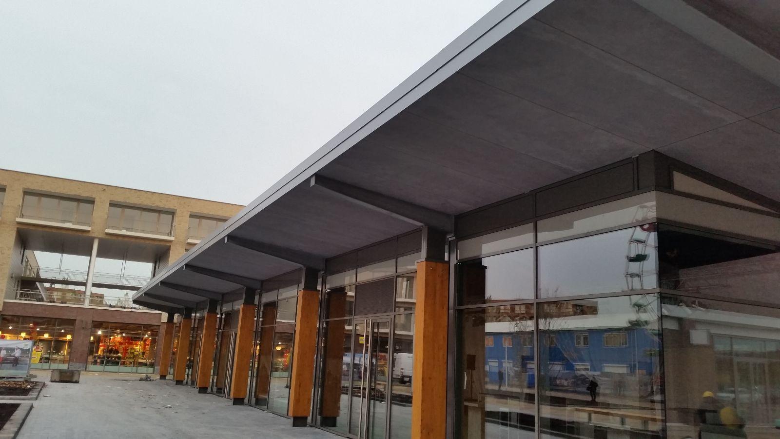 Prachtig werk opgeleverd, winkelcentrum Terwijde te Utrecht.