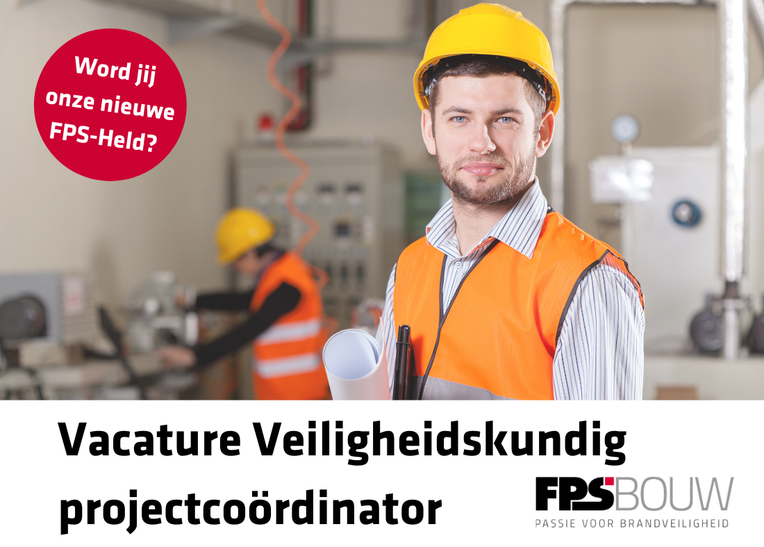 Veiligheidskundig Projectcoordinator FPS