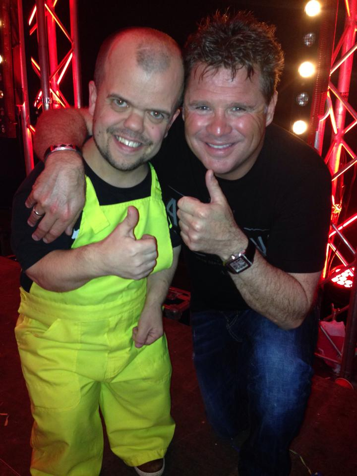 DJ Timmie met Wolter Kroes