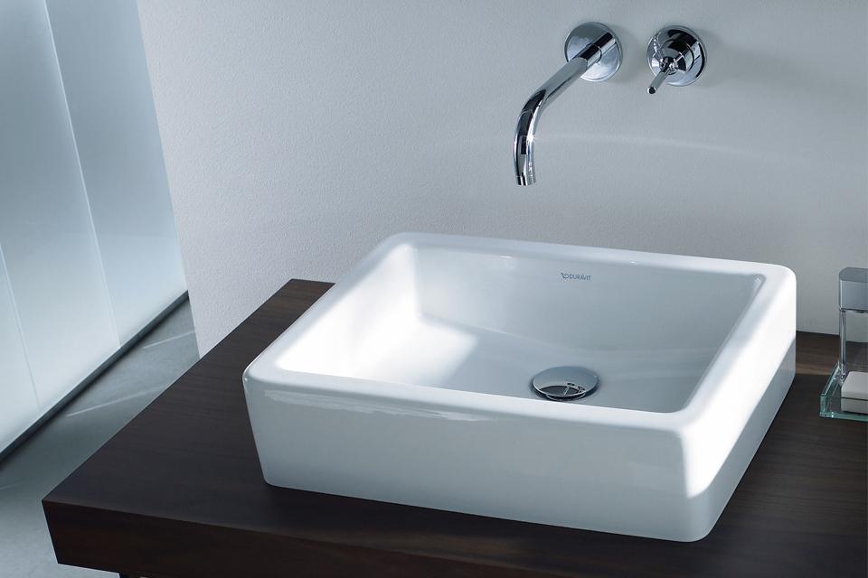 Clou wc wastafel natuursteen zonder kraangat zwart elegante