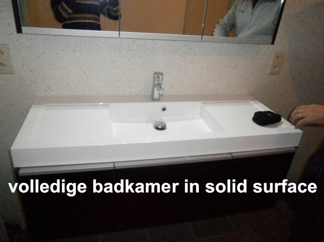 Emejing Solid Surface Badkamer Pictures - Amazing Ideas 2018 ...