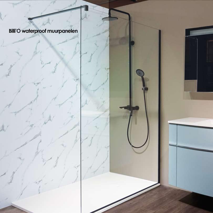 Unieke kunststof panelen om uw douche of badkamer luxueus mee af te ...
