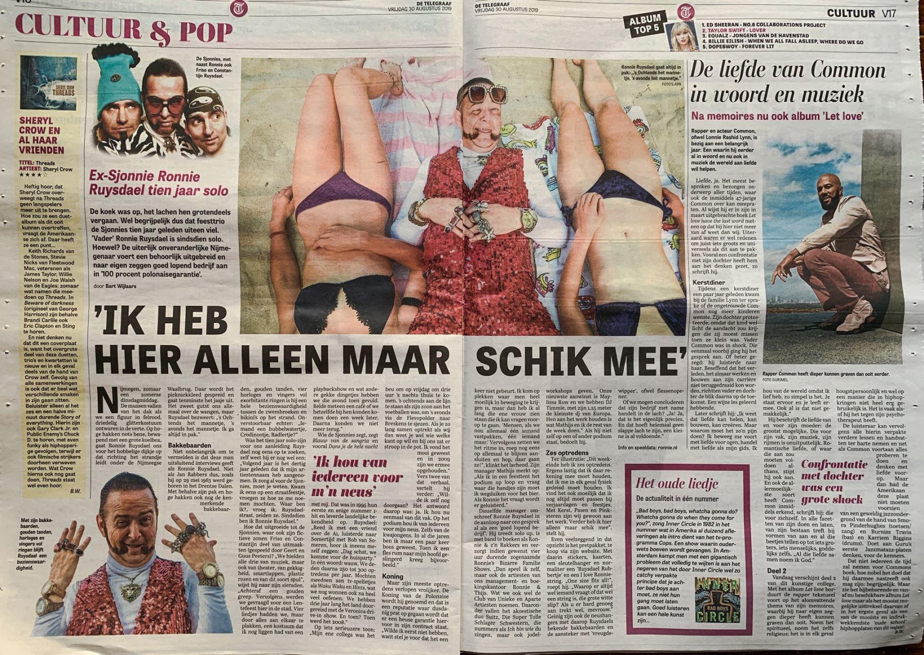 Ronnie_Ruysdael_Telegraaf_Koning_van_de_Polonaise