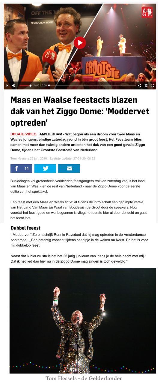 Ronnie_Ruysdael_Ziggodome_Feestteam