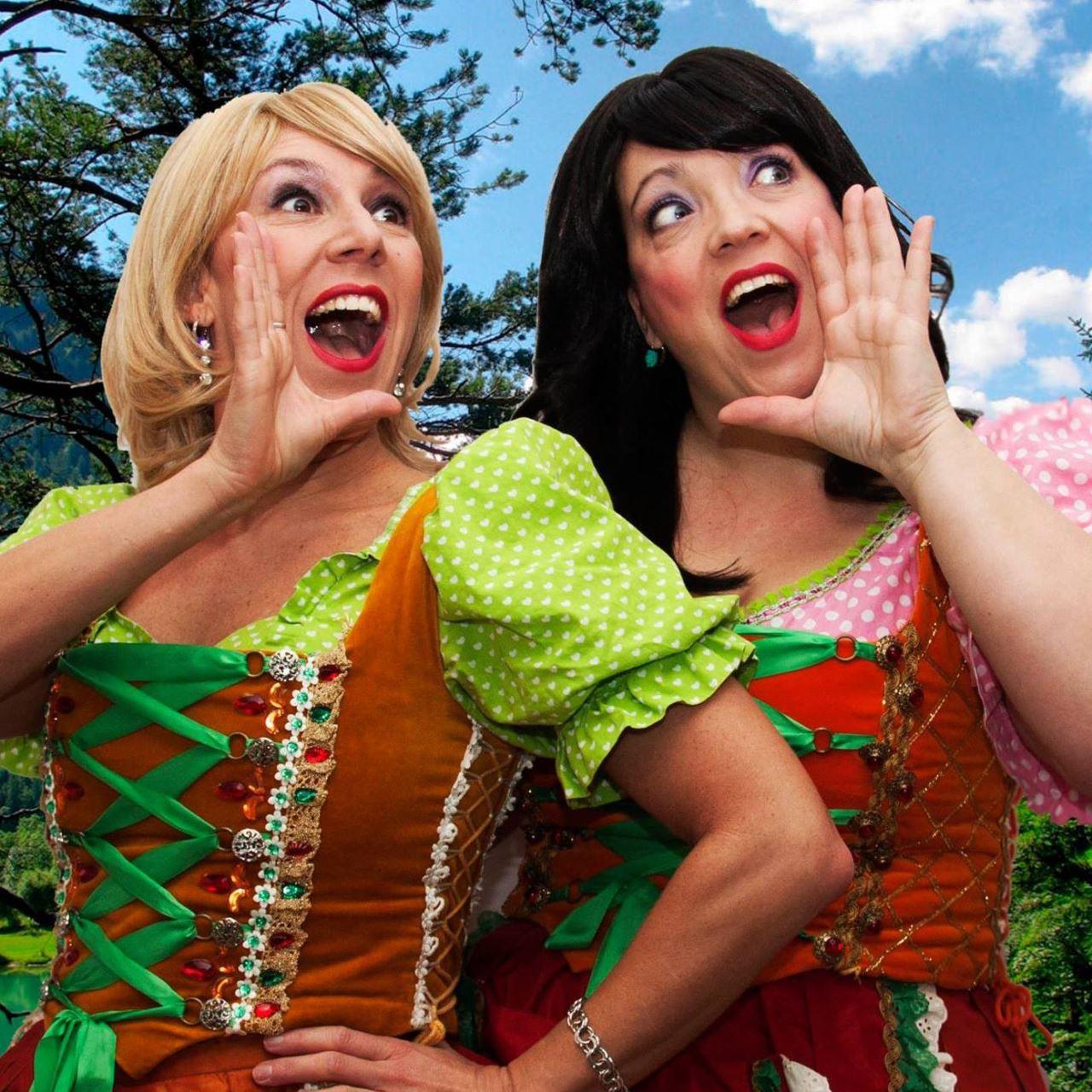 Jodelworkshop door de zusjes Gaby und  Carina Coburg