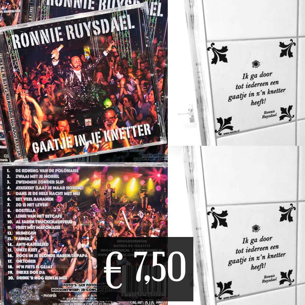 Ronnie_Ruysdael_Gaatje_in_de_knetter_sticker