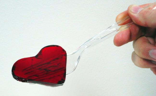 Heart made of Jello